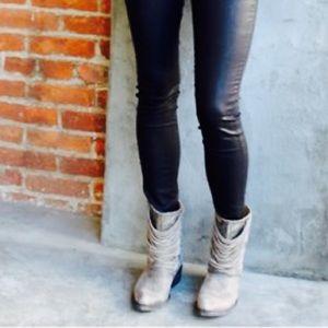Matisse Slash Distressed Ankle Boot